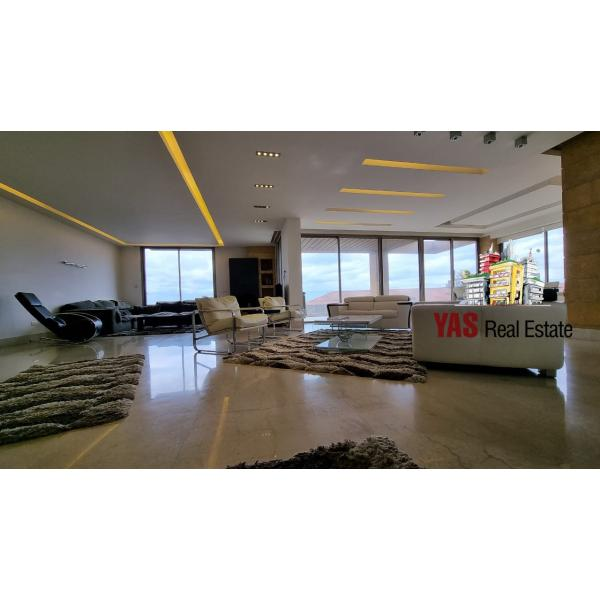 Sahel Alma 310m2 | Ultra-Modern | Prime | High-End | Furnished | Cheque |