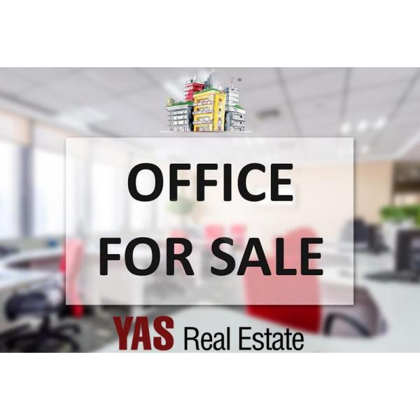 Ballouneh 80m2 Office + 120m2 Storage | Excellent Condition | Road Level | Catch |